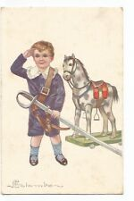 Illustration Colombo, Child, Horse de Bois