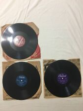 78 Rpm Hal McIntyre Cosmo Del Wood Tennessee Jimmy Wakely Capitol