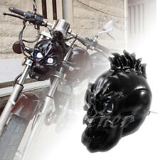 LED Skull Head Light Headlight Lamp for Harley Choppers Cruiser Touring Custom
