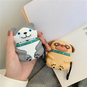 Cute Dog Cartoon Earphone Cases For Apple Airpods 1 2 3 Pro 360 Protection Cover