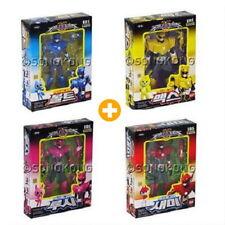 Miniforce Semi + Bolt(Volt) + Max + Lucy 4 Pcs Action Figures Robot Toy + Gift