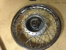 DRZ110 REAR WHEEL ASSEMBLY SUZUKI DRZ 110 REAR WHEEL HUB SPOKES COMPLETE