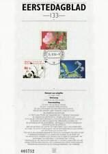 Nederland Eerstedagblad 1994 EDB 133 - Natuur en Milieu / Bloemen