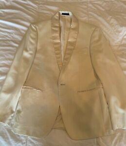 Ryan Seacrest Macy's Cream White Dinner Jacket Tuxedo Read