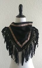 STEVE MADDEN Women's Aztec Triangle Fringe Neckerchief One Size FASHION HAVEN