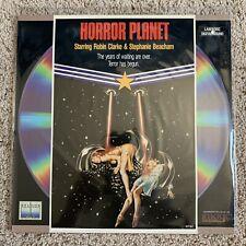 Horror Planet Laserdisc - VERY RARE HORROR SCI-FI