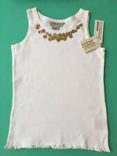 GUESS JEANS SEQUIN SINGLET TOP GIRLS M(5/6)