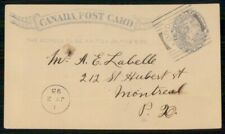 Mayfairstamps Canada 1893 Brockville to Montreal Qv Stationery Card wwh90373
