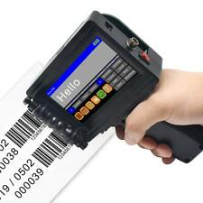 Upgraded Handheld Inkjet Printer Mobile Logo Barcode Date Batch Coding Machine