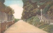 UK Surrey Farnham Castle steps 1910s PC