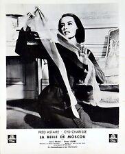 SILK STOCKINGS 1957 Cyd Charisse FRENCH LOBBY CARD