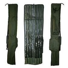 Carp Fishing Tackle Rod Holdall Bag For 3 Made Up & 3 Unmade Rods & Reels (100)