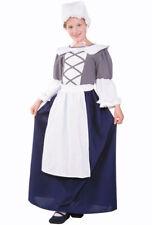COLONIAL PEASANT GIRL COSTUME PILGRIM PIONEER PRAIRIE COSTUMES 91230 LARGE