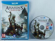 Assassin's Creed III für Nintendo Wii U - OVP - Guter Zustand - BLITZVERSAND