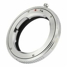 Pomya Camera Lens Adapter Ring LM-E.R Lens Converter Ring for Leica LM Zeiss M Mount Lens to Canon EOS R Mirrorless Camera