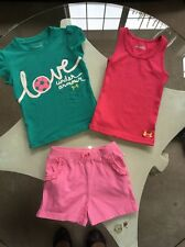 Girls 3T SOCCER Under Armour Tank T Shirt Shorts Fisher Price