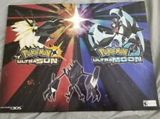 POKEMON Ultra Sun And Ultra Moon 24x18 Double Sided Gamestop Exclusive Poster