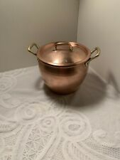 Ruffoni Copper 4.75 qt Stock pot w/ brass handles, Made in Italy