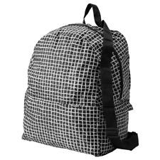 Backpack Folding bag School Grocery Light Weight Foldable IKEA KNALLA NEW