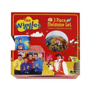 Wiggles 3pce Melamine Set
