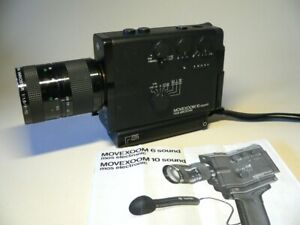 Agfa Movexoom 10 Super 8 camera - working, good condition with original manual.