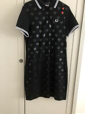 Fred Perry Amy Winehouse Foundation Polo Dress Size 10