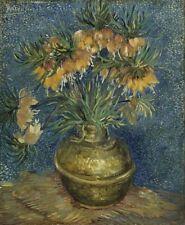 Sunflowers in Vase Van Gogh Flowers Floral Painting Canvas Print Wall Art 8x10