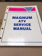 Magnum Atv Polaris Factory Repair Service Manual Book 9912961