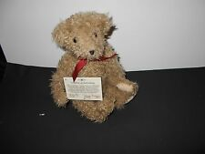 """Teddy Bear,Moving Joints """"Grandmas Bear"""" w/stand and COA.By Mary Meyers,Numbered"""