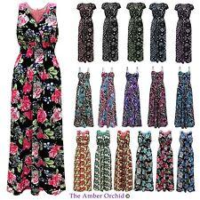 Full Length Polyester V Neck Casual Dresses for Women