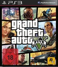 SONY PS3 Grand Theft Auto V PlayStation 3 GTA 5 deutsch USk18 gebraucht OVP Z gu