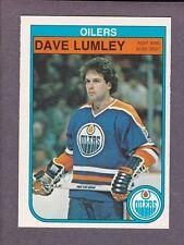 1982-83 O-Pee-Chee OPC Hockey Dave Lumley #114 Edmonton Oilers NM/MT