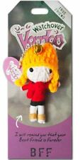 "Watchover ""BFF"" Novelty Voodoo Doll Keyring Keychain Christmas Gift Collectable"