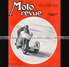 MOTO REVUE N°1263 RECORDS GUZZI DISTRIBUTEUR ROTATIF Dossier SPECIAL SALON 1955