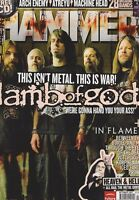 OCT 2007 METAL HAMMER  rock and roll music magazine LAMB OF GOD