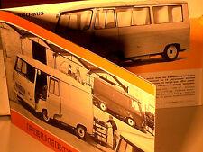 BEAU CATALOGUE PEUGEOT J7 1970/71 MINIBUS / CARS / PICK UP / BETAILLERE