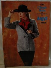 Classic Suits Book for Machine Knitting Book by Argyll - M679