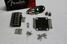 New Fender Hardtail Chrome Stratocaster Body Hardware Set - Strat