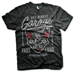 Official Licensed Gas Monkey Garage (GMG) - Fast and Loud Men's T-Shirt S-XXL