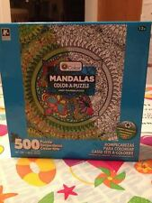 Adult Butterfly Coloring Puzzle 500 Piece Jigsaw Puzzle 16 x 20 Rare New Sealed