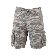 ACU Digital Camouflage Vintage Infantry Utility Shorts Rothco 2520