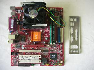 MSI MS-6787 + Celeron 2 GHZ + 1Gb DDR + Cooler 478
