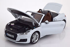 Minichamps 2014 Audi TT Roadster White Dealer Edition 1/18 Scale New! In Stock!