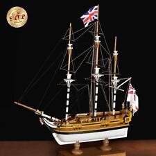 "Beginner Friendly, New Wooden Model Ship Kit by Amati: the ""HMS Bounty"""