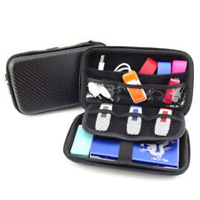 EG_ Portable USB Hard Drive Disk Carry Case Cable Earphone Storage Pouch Bag Swe