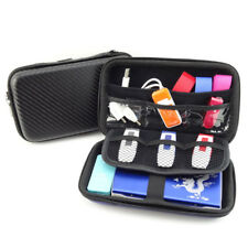 SN_ EG_ Portable USB Hard Drive Disk Carry Case Cable Earphone Storage Pouch B