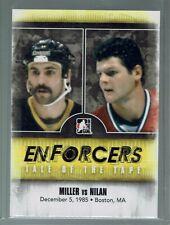 2011-12 ITG Enforcers Tale of the Tape #39 Jay Miller vs. Chris Nilan