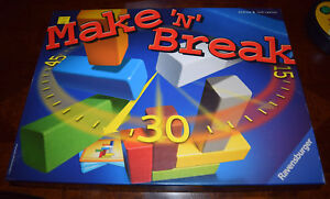 Ravensburger Make N Break Board Game Replacement Parts & Pieces 2004