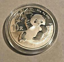 New Listing2020 Chinese Panda 30 Gram 10 Juan Silver Coin Gem Mint In New Capsule