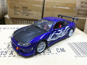 Welly 1:24 Nissan S15 Metal Diecast Modified Car Vehicel Loose New